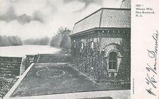 NEW BRUNSWICK NEW JERSEY WESTON MILLS~LAWRENCE BROOK POSTCARD 1900s