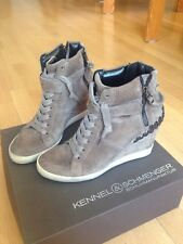 Kennel & Schmenger Sneaker Wedges taupe Gr. 39 wie neu Isabel Marant Marc Jacobs