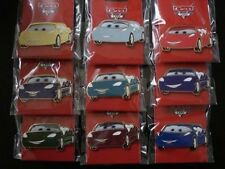 Disney Pin WDI DLR DCA Attraction Radiator Spring Racers Set of 9 Pins LE200