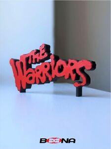 Decorative THE WARRIORS self standing logo display