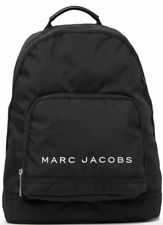 NEW! $225 MARC JACOBS Black Preppy Nylon College Backpack M0014780 001