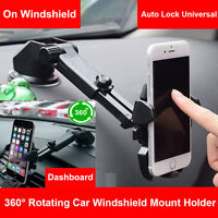 Universal Windshield Dash Suction Cup Car Holder Mount Stand for Cell Phone GPS