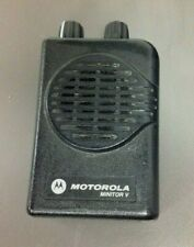 Motorola Minitor 5 Pager, Model # A03Kms9238Bc, Vhf, 1 Ch Sv, No Charger, No Bat
