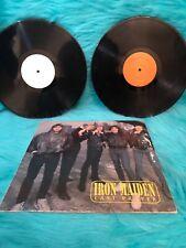 Iron Maiden Last Prayer Vinyl Live 1984 Stuttgart England Rare