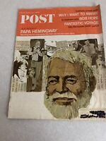 Vintage Post Magazine Saturday Evening Post Ads Advertisement March 12,1966