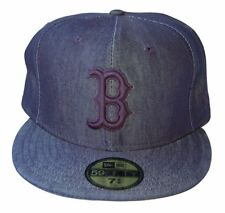 MLB Boston Red Sox New Era 59Fifty Dark Denim Fitted Hat