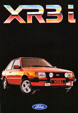 FORD ESCORT XR3i BROCHURE, REF.FA 589.