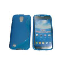 Custodia + Pellicola COVER WAVE BLU Per Samsung I9295 Galaxy S4 Active B5