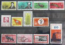 DDR Briefmarken 1963 Schriftsteller,Geschützte Tiere,Messe,Rotes Kreuz,Mahn-u.Ge