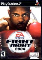 Fight Night 2004 (Sony PlayStation 2, 2004) - European Version Complete