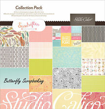 Sundrifter Collection 12X12 Scrapbooking Kit Studio Calico American Crafts New