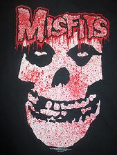 2004 Misfits Double-Sided (Xl) T-Shirt Re 00004000 D Black & White