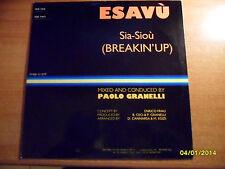 ESAVU - SIA-SIOU' -  MAXISINGLE - 1982