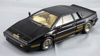 AutoArt 1:18 Black Lotus Esprit Turbo Diecast Model Toy Car Basic Instinct Film