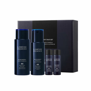 [LANEIGE] Homme Blue Energy EX Duo Set - 1set (4 items) / Free Gift