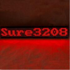 P7.62 32X8 3208 Red LED Dot Matrix Unit Board Information Display Board