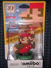 NEW Nintendo amiibo SUPER MARIO 30th Classic BROTHERS BROS Maker JAPAN IMPORT FS
