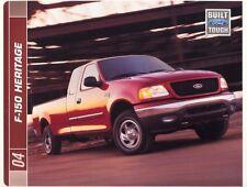 2004 Ford F-150 Heritage XL XLT Pickup Truck Sales Brochure