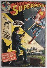 """SUPERMAN #230 (DC 1970) VG+ """"Killer Kent Versus Super Luthor"""" Lex Luthor App.!"""