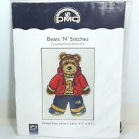 DMC Cross Stitch Kit Bears n Stitches Teddy Number One Unused