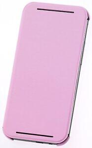 (RV443) JOBLOT of 35 x HTC Flip Case Pink for HTC One (M8)