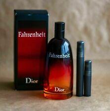 Dior Fahrenheit EDT 10 ml travel size 100% genuine