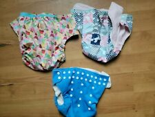 4 Imagine Other Toddler Lg Girl Cloth Diaper Covers Unicorn Cupcake Farm Solid