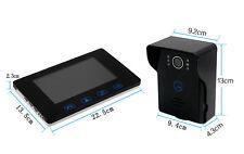 """7"""" Video Intercom,2.4GHz Digital Wireless Door Phone System with WiFi Doorbell"""