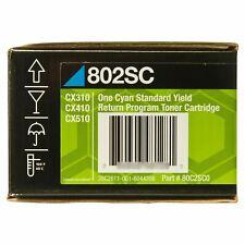 Original Lexmark Toner 80C2SCE 802SC 80C2SC0 cyan  CX310 CX410 Cx510 A-Ware