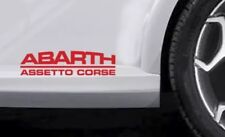 FIAT Punto Abarth Premium Side Skirt Decals Stickers 500 500c Fait Uno Bravo