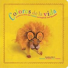 Colores de La Vida: Mexican Folk Art Colors in English and Spanish (Board Book)
