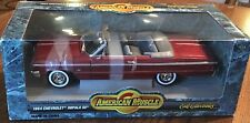 "1964 Chevy Impala SS 1/18"" Scale ""American Muscle"" by ERTL Collectibles (JVE:54)"