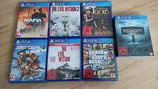 PS 4 Spielesammlung USK18