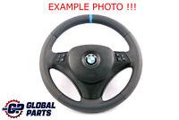 BMW 1 3 Il E81 E87 E90 E91 E92 Neuf Cuir Comme M-SPORT Volant Tris Couleurs