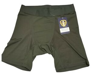 Base Layer Shorts Dark Green Leeds United Official Merchandise Size S