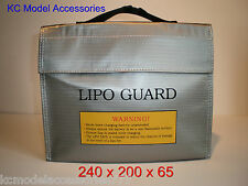 Lipo Safe carga bolsa de seguridad a prueba de fuego de carga llevar saco.