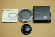 FUJIFILM 39mm LENS CAP and FILTER BOX