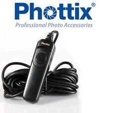 Mando cable Phottix 3 metros para Sony a33 a35 a55 a65 a77 a99 disparador remoto