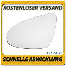Spiegelglas für TOYOTA COROLLA 2014-2018 links Fahrerseite konvex