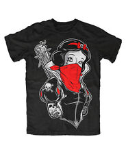Punk Snow White Tattooed Premium T-shirt, tatuaje culto, fashion, Gothic, emo, Pin Up