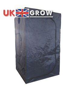NEW 1.2X1.2X2M Grow Tent Bud Dark Green Room Hydroponics Mylar Silver gorilla bo