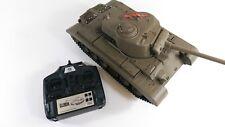 Panzer Pershing Snow Leopard 2.4G Smoke Dual Sound Airsoft BB RC Tank Xmas Gift