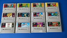 Various SNES Games. Tested,