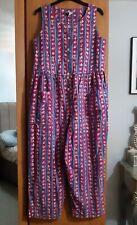 Laura Ashley Vintage Romper Playsuit Size Medium/Large