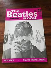 RARE 1965 THE BEATLES MONTHLY BOOK #28