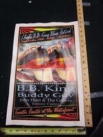 2001 Rock Roll Concert Poster BB B.B. King Buddy Guy FGX S/N#200 Trains