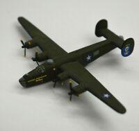 "Corgi B24 Liberator Tokio Express WWII Metal Diecast Airplane Green 5"" Wingspan"