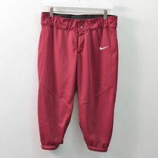 Nike Vapor Game Pant Softball Red Womens Size Large L