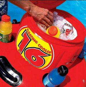 SPORTSSTUFF Floating Cooler 16 Quart 4 Gallons BRAND NEW!