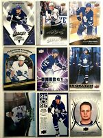 Auston Matthews 9 Card Lot O-Pee-Chee Upper Deck Portraits Toronto Maple Leafs